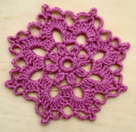 Crochet Mini Doily Pattern