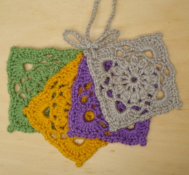 Crochet Coasters Square