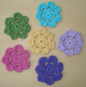 Small Crochet Embellishments